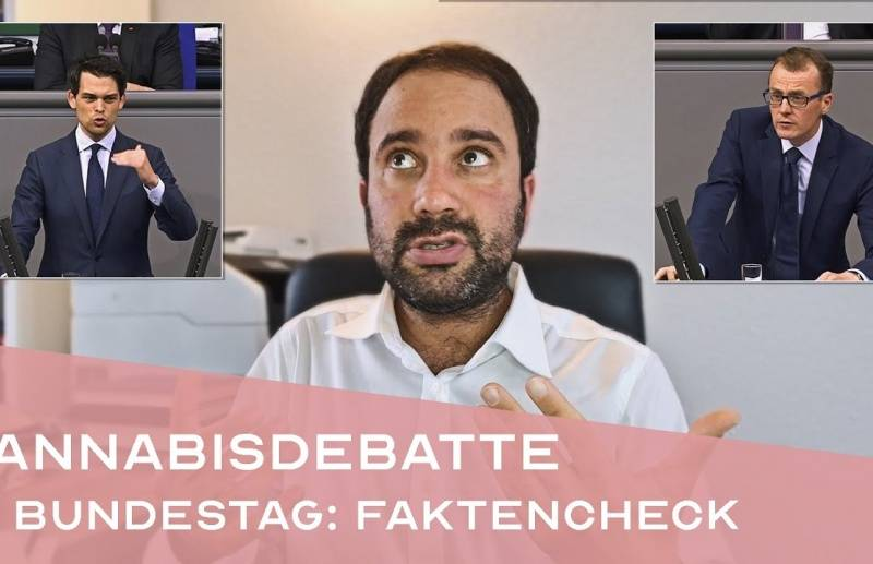 Embedded thumbnail for Cannabisdebatte im Bundestag: Faktencheck #10